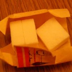 Disaster Preparedness Checklist - Cubes of Sugar 3 cubes